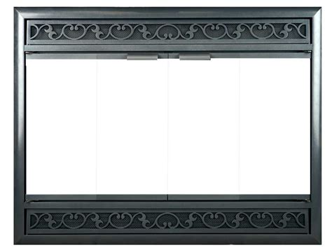 Glass Doors Custom Fit The Fireplace Place Custom Fireplace Glass Doors
