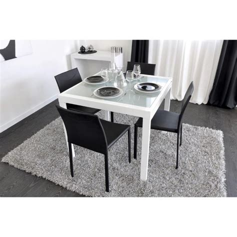 Table Blanche Extensible by Table Salle A Manger Carree Extensible Lertloy