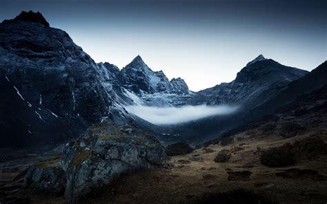 imagenes chidas oscuras fondos de pantalla de vista de montanas oscuras tama 241 o