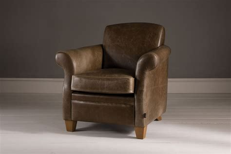 Leather Armchair by The Vintage Leather Armchair By Indigo Furniture