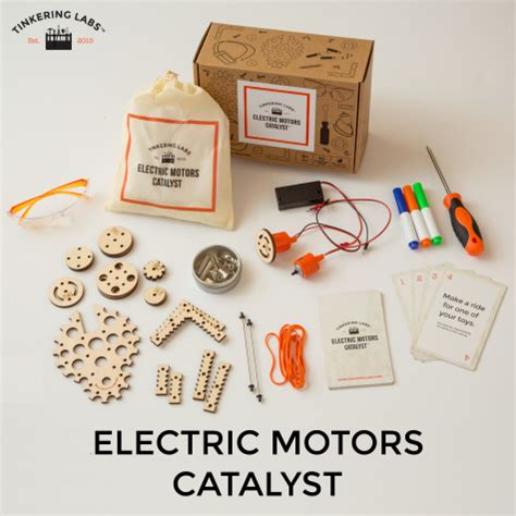 catalyst motors tinkering labs electric motors catalyst kit educents