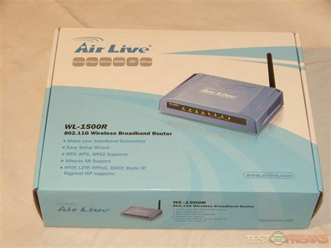 Router Wifi Broadband airlive wl 1500r 802 11g wireless broadband router technogog