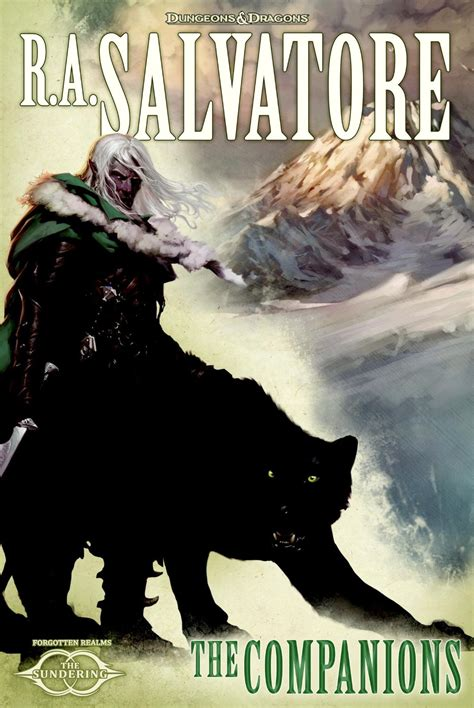 the companions the sundering a review of the companions the sundering book i by r a salvatore bill s book reviews