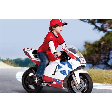Motorrad Kleinkind by Elektro Motorrad 24v Spielzeug Peg Perego Ducati Gp