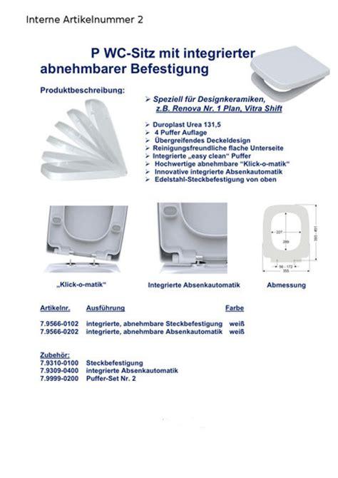 kohler wc ersatzteile wc sitz passend f 252 r vitra shift absenkautomatik abnehmbar