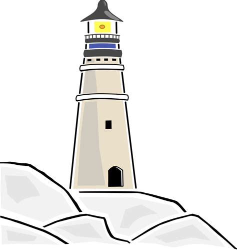 graphics clipart lighthouse clip minisportsballs cliparting