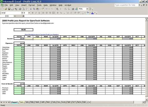 Track Small Business Expenses Schedule C Expense Excel Template