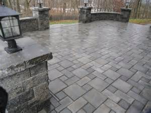 Rugs For Steps Ep Henry Paver Patio With Sitting Walls And Pillars Traditional Patio Philadelphia By