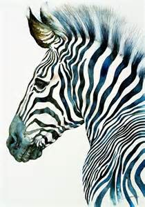 zebra paint the 25 best artwork ideas on awesome drawings