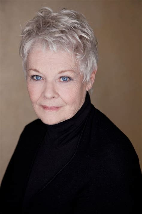 what products to use to get judi dench hair dame judi dench goes wild oscar winning actress lends