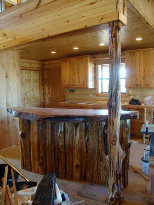 redwood bar top rustic kitchen with redwood burl bar top everything kitchen pinterest cabinets