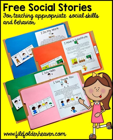 Common Worksheets 187 Free Printable Social Skills Printable Social Stories