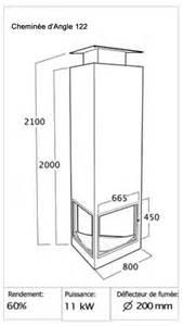 chemin 233 e d angle avec foyer 224 bois suspendu 224 petit prix