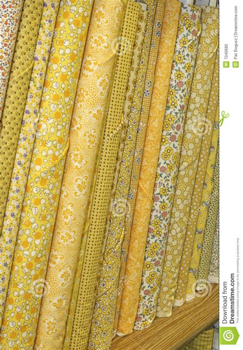 Photo Quilt Fabric by Quilt Fabric Stock Photo Image 7040680