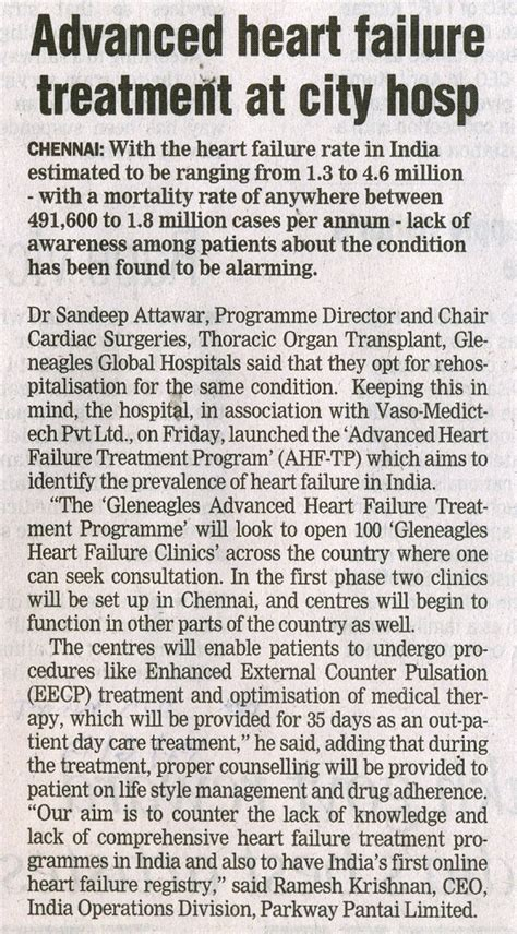 news in healurheart eecp treatment news in page 1