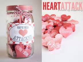 Valentine Gifts Ideas by Valentine S Day In A Jar On Pinterest Valentine Gifts