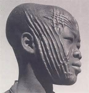 Yoruba Letter Sle Scarification In Africa Sabinaaubg