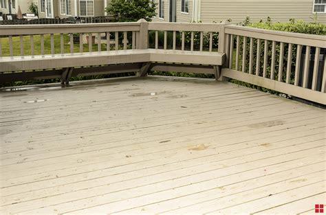 transform  wood deck   day