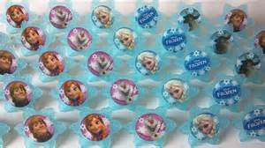 24 frozen cupcake rings picks or cake by aisforapronstrings