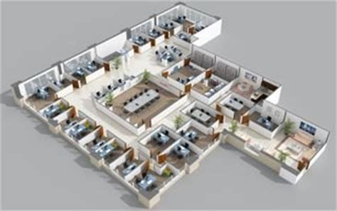 3d office floor plan 301 moved permanently