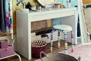 coiffeuse meuble avec miroir ikea