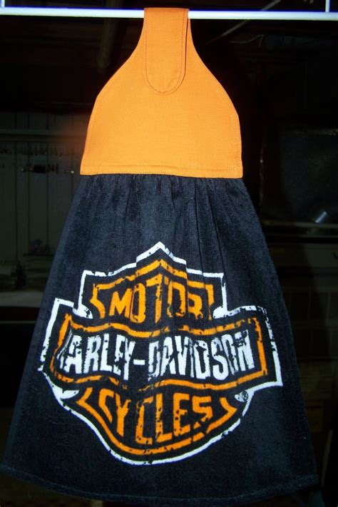 Harley Davidson Kitchen by Harley Davidson Hanging Kitchen Towel I Made These For The