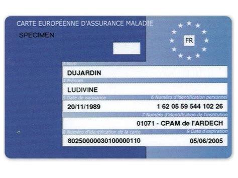 bureau carte assurance maladie connais tu la carte europ 233 enne d assurance maladie