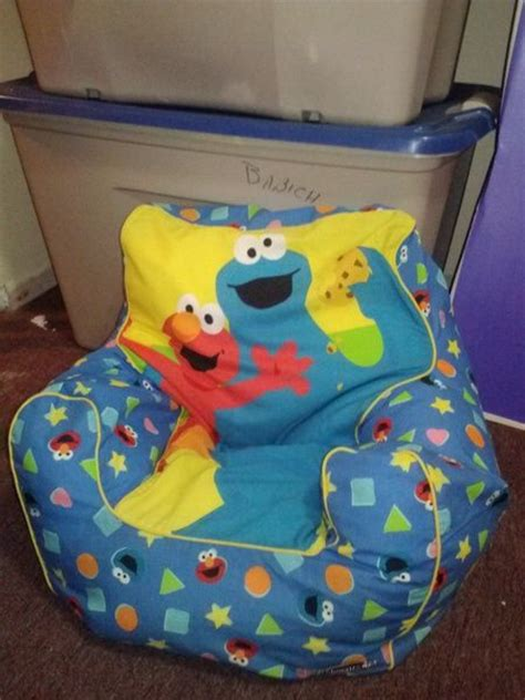 20 cute bean bag chairs for toddlers elmo cookie monster bean bag chair cute for kids room