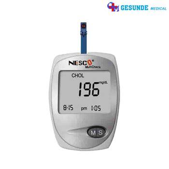 Alat Multicheck Nesco alat tes darah nesco multicheck 3 in 1 toko medis jual