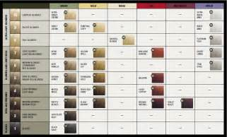 hair rinse color roux fanci hair rinse color chart