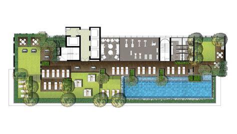 Pool Home Plans the lofts ekkamai site plan