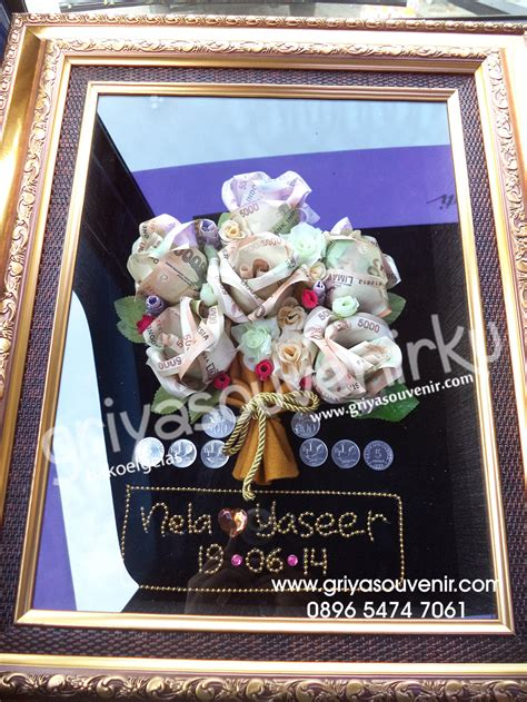 Boneka Flanel Mahar Pernikahan griya souvenir 187 187 buket bunga pigura
