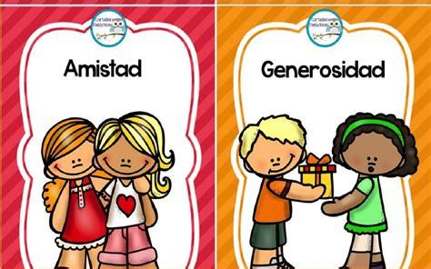 imagenes educativas de valores carteles educativos de valores para el aula pdf