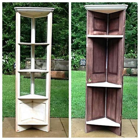 door corner shelf great craft ideas best