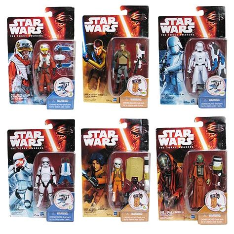 Hasbro Wars W1 16 Awakens 3 75 Figure Completed 1 wars the awakens snow desert figures wave 2 set