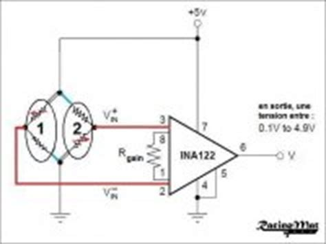 wheatstone bridge with resistor in middle tutorial diy load cell brake pedal tuto