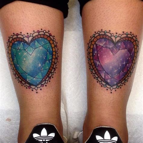 crystal heart tattoo 221 best jewels tattoos ideas images on gem