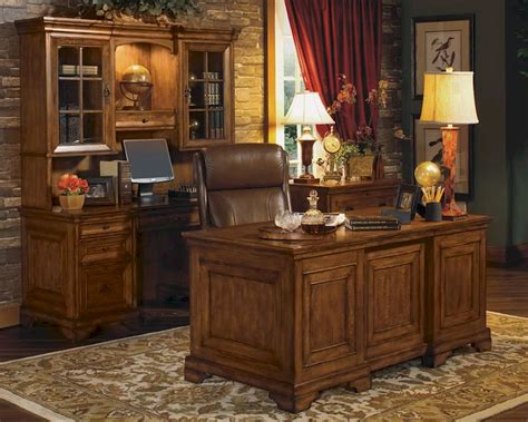 Aspen Home Office Furniture Aspen Centennial Executive Office Set As49 6