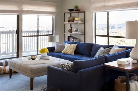 Sectional Sofa Decorating Ideas by Glorious Contemporary Blue Velvet Sectional Sofa