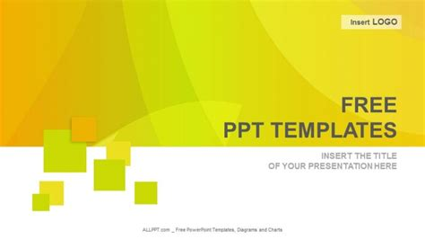 template powerpoint free orange waves abstract powerpoint templates free