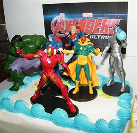 Marvel Avengers Age of Ultron Figure Toy Set of 6 Deluxe