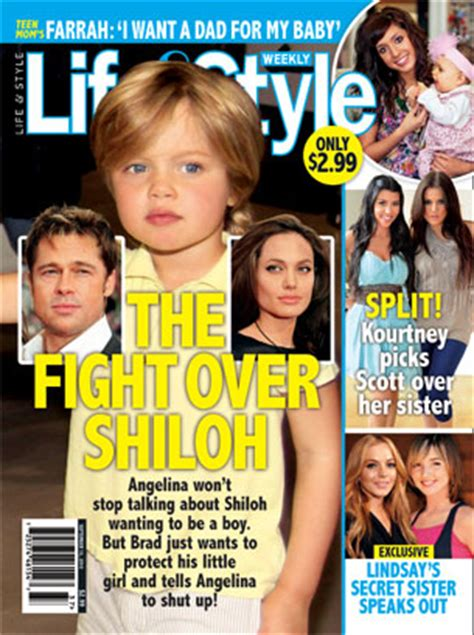 Brad To Angie Why Dont You Shiloh Lifestyle Magazine by Brad The Fight Shiloh Style