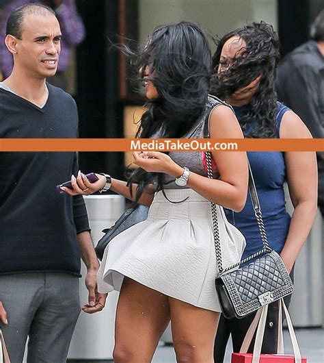 whoops angela simmons had a wardrobe malfunction a
