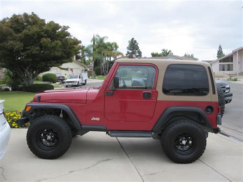 1998 Jeep Wrangler Tj 1998 Jeep Wrangler Ii Tj Pictures Information And