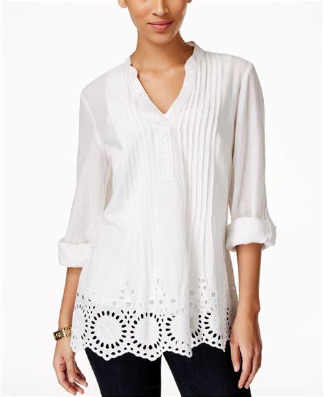 Macys Blouse macy black blouse collar blouses