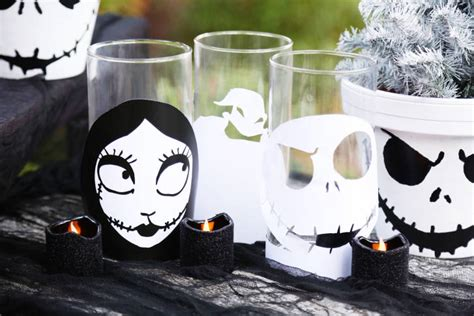 the nightmare before christmas candle holders disney family