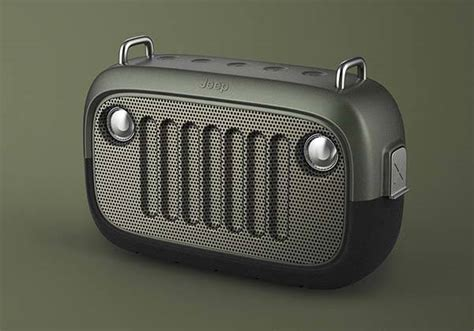 Bluetooth Jeep The Jeep Inspired Outdoor Waterproof Bluetooth Speaker