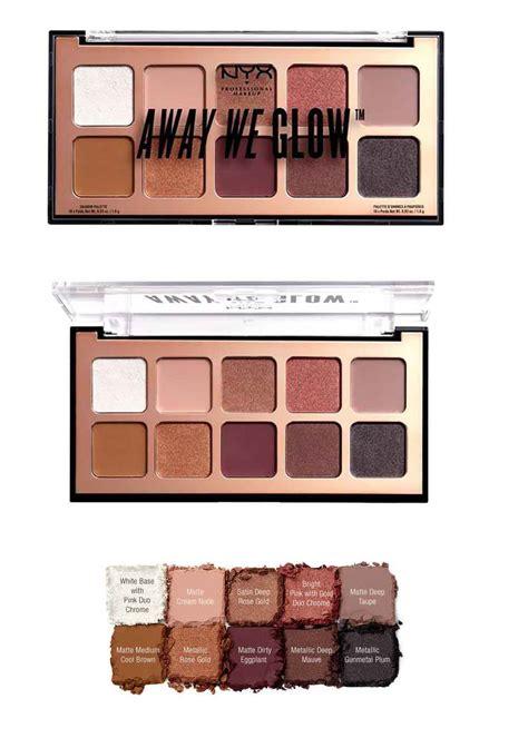 Nyx Away We Glow away we glow nyx palette trucco estate 2018 beautydea