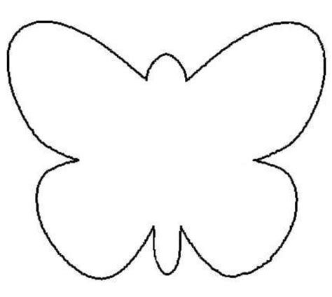 template of butterfly to print photos bild galeria butterfly outline coloring pages