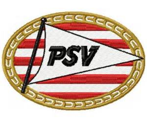 psv eindhoven logo machine embroidery design instant